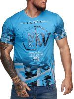 SEMAL JNS Pánské triko s krátkým rukávem 3D Model 1206   2XL
