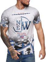 SEMAL JNS Pánské triko s krátkým rukávem 3D Model 1206   XL, 2XL