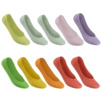 10 Pack Bamboo Invisible Socks Ladies